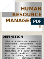 Human Resource Management Pp