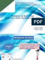 Medidores de Nivel y Flujo (Instrumentacion y Control)