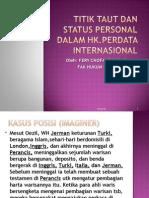 Titik Taut Dan Status Personal