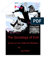 The Sociology of Evil by Jay Edson