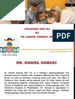 Pediatric ENT NJ by Dr Daniel Samadi MD