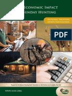 sundayhunting economicimpact
