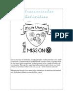 extracurricular activities - competency 9