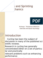 Cycling and Sprinting Biomechanics