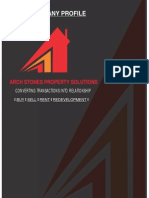 Company Profile- Archstones Property Solutions