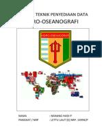 Petunjuk Teknis Penyediaan Data Hidro-Oseanografi Taktis Lettu [E] Nanang H.P