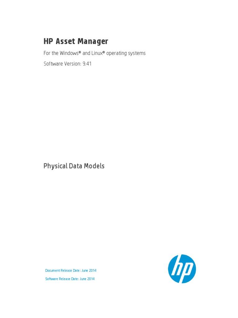 Am Physicaldatamodels Hewlett Packard World Wide Web