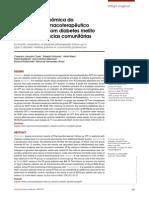 Avaliar os resultados econômicos do seguimento farmacoterapêutico (SFT) em pacientes com diabetes melito tipo 2 em farmácias comunitárias privadas do sistema suplementar de Saúde.
