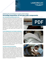 Incoming Inspection of Hot Gas Path