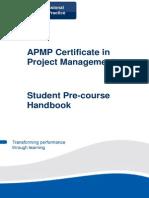 QA APMP Pre-course Handbook v2.0