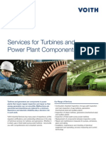 Turbines and Power Plant Components