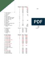 Computer Parts Revised List Original
