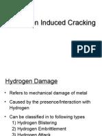 Hydrogen Cracking