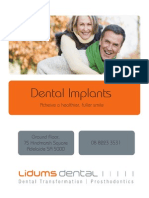 Achieve a healthier, fuller smile with Dental Implants