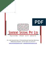 Sentient Systems Company Profile