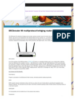 DECbrouter 90 Multiprotocol Bridging Router