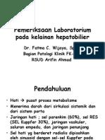 Pemeriksaan Faal Hati Dr.fatmawati,SpPK