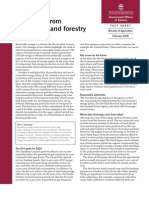 Bioenergy From Agriculture and Forestry