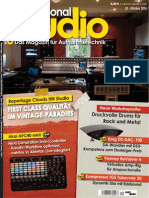 Professional Audio Magazin Oktober N 10, 2014
