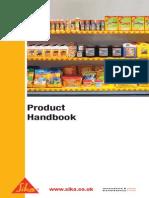 SIKA Product Handbook 2012