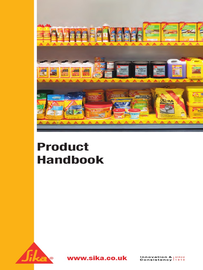 SIKA Product Handbook 2012 | Concrete | Mortar (Masonry)