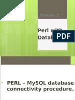 Perl Database