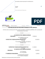 Asiento Contable Por Préstamo Otorgado,Según Plan Contable Empresarial