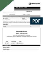 EFT Request Form