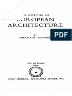Nikolaus Pevsner - An Outline of European Architecture