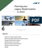 Planning Your Progress Legacy Modernization in 2015!