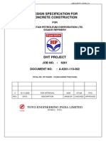 Design Specification for Concrete Construction
