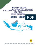 RUPTL PLN 2015-2024