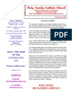 hfc november 16 2014 bulletin