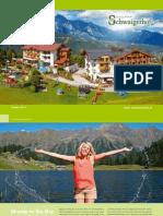 Summer Prices 2015 Hotel Schwaigerhof, Austria