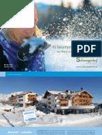 Winterprospekt 2014/2015 Hotel Schwaigerhof