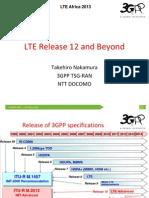 Lte Africa 2013 3gpp Lte Release 12