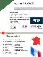 Presentation Campus France EHEF 2010