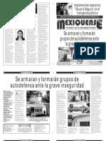 Diario El mexiquense 30 enero 2015