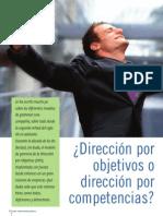 Direccion Por Objetivos o Competencias