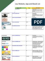 digital lit resource list