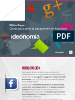 Generar Engagement en Facebook