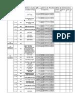 List of Drawings- Final