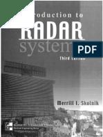 IntroductiontoRadarSystems-Merrill I Skolnik III-EDITION