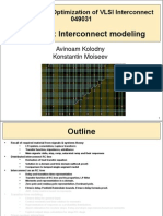 Interconnect 03 - Interconnect Modeling
