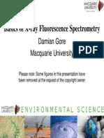 Basics of X-ray Fluorescence Spectrometry
