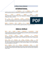 July 2015 Current Affairs Study Material