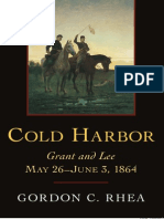 Cold Harbor. Grant and Lee. May 26-June 3, 1964 [Louisiana State Univ.]