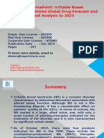 Irritable Bowel Syndrome-Global Drug Forecast and Market Analysis to 2023
