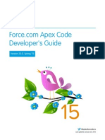 Salesforce Apex Language  ref