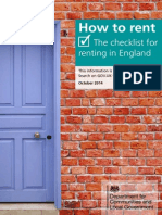 How to Rent- The Checklist for Renting in England FINAL V5 Links Update Sept 2014